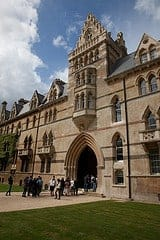 Christchurch college in Oxford