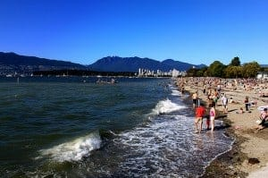 The best beach in vancouver?