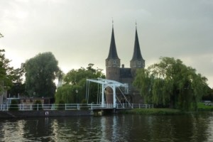 Delft in the Netherlands Holland