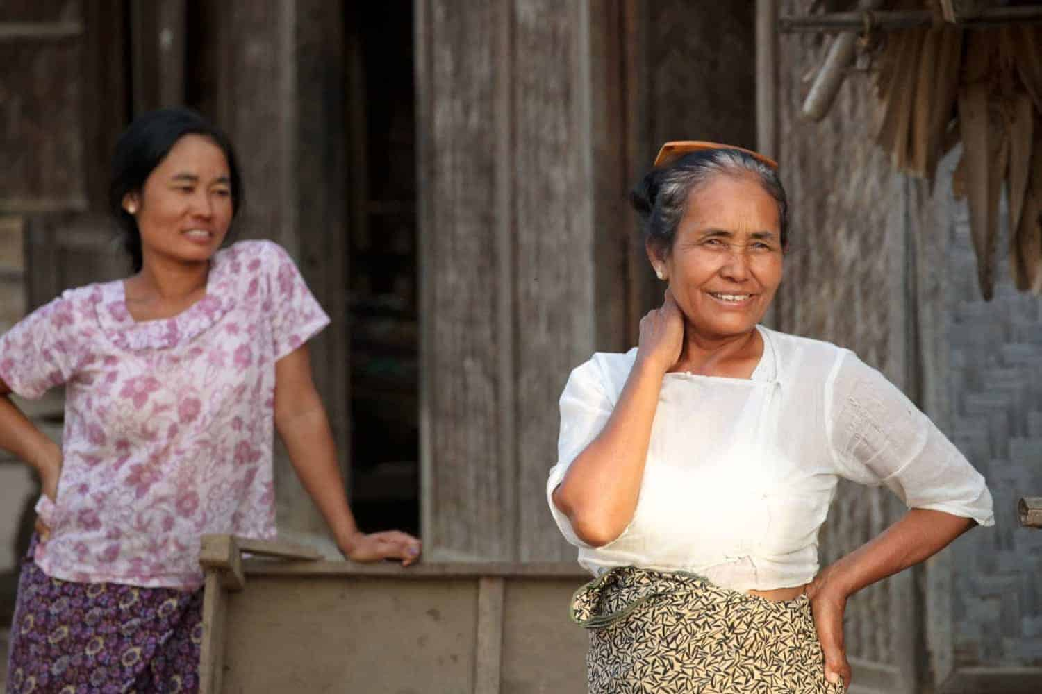 Are local people friendly in Myanmar