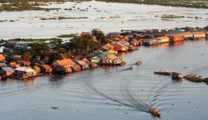 Tonle Sap floating village review