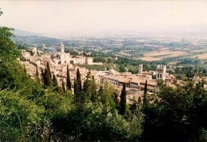 Assisi road trip itinerary
