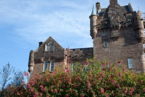 Brodick Castle in Arran