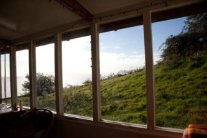 View of Arran from the bunkhouse