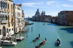 Venice by road