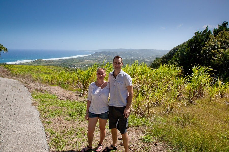 Cherry Tree Hill in Barbados