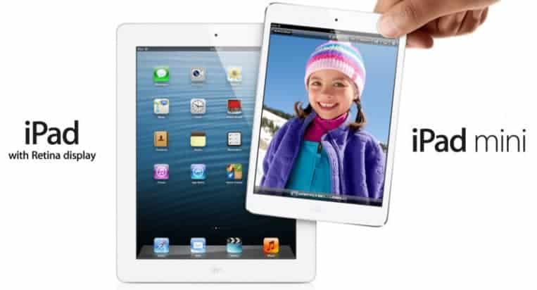 ipad and ipad mini