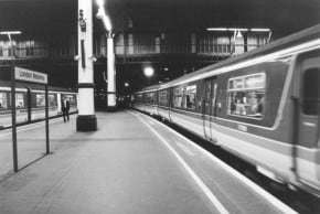 Last train out of London
