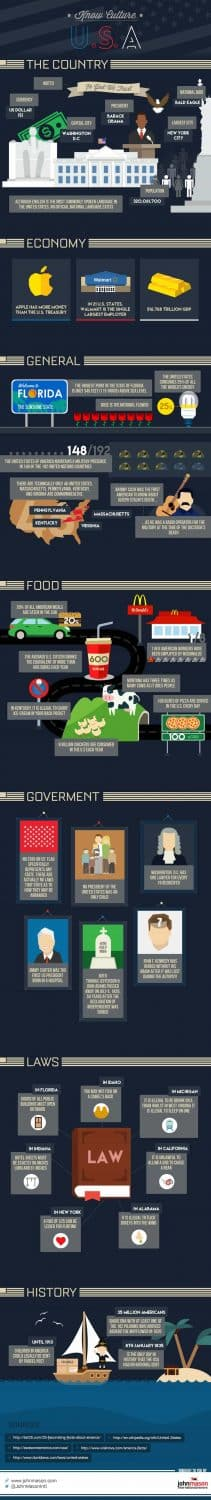 US Culture Infographic