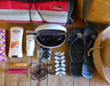 packing advice for a family holiday