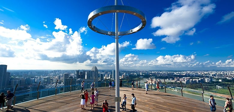 Marina Bay Sands views