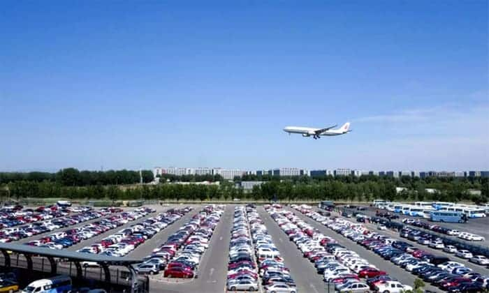 Off site parking at airports